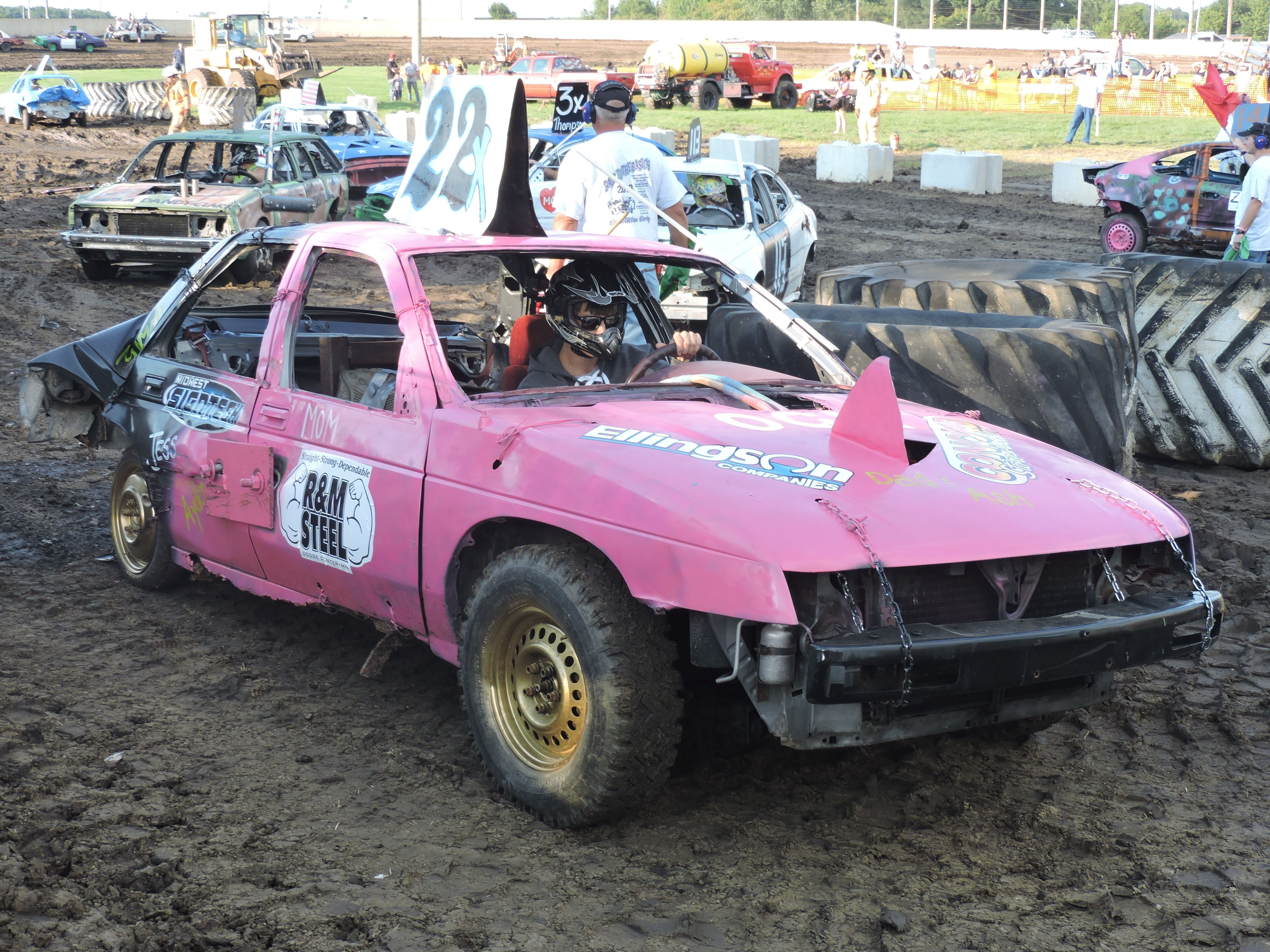 Demolition Derby Dodge County Free Fair